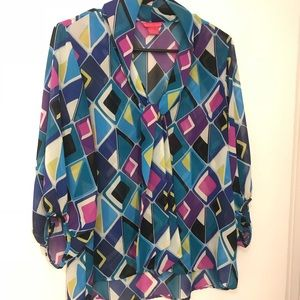 Sunny Leigh pattern multi color, L